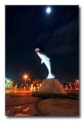 dolphin @ skudai (johor) (imbloggerash) Tags: light night landscape cityscape dolphin picture johor skudai