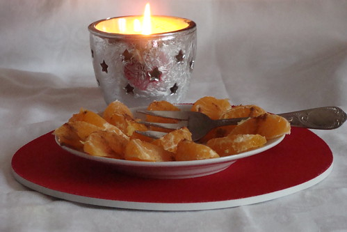 cel mai simplu desert: mandarine cu scortisoara