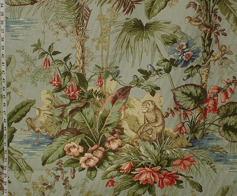 Monkey fabric island