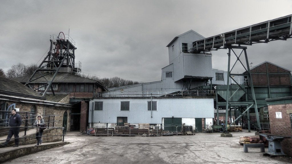 Caphouse Colliery National Coal Mining Museum Wakefield Yorkshire