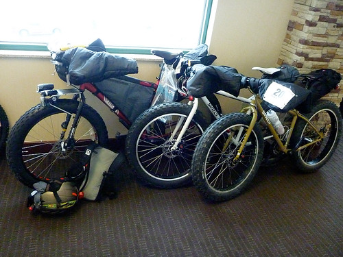 Three Fat Bikes