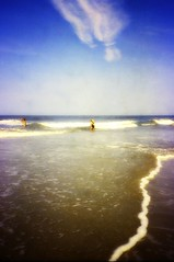 Lost moment (Emily Taliaferro Prince) Tags: ocean family summer sun beach water virginia memories shore memory virginiabeach
