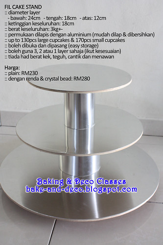 FIL Cake Stand *New Version