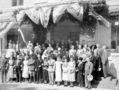 Celebration: Winter Haven, Fla. (State Library and Archives of Florida) Tags: florida festivals citrus oranges governors winterhaven citrusfestival statelibraryandarchivesofflorida governorcarlton floridaorangefestival doylecarlton