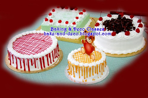 Demo Class 2 Jan 2011: Variety Cakes