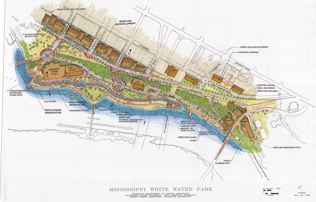 Proposed Mississippi White Water Park & Redevelopment