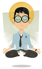 Office Yoga (medialunadegrasa) Tags: yoga illustration office error textures maintenance page illustrator 404