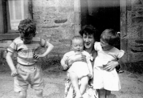 Jim,Margaret,Peter and Mum 1961