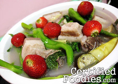 Strawberry Pork Sinigang - CertifiedFoodies.com