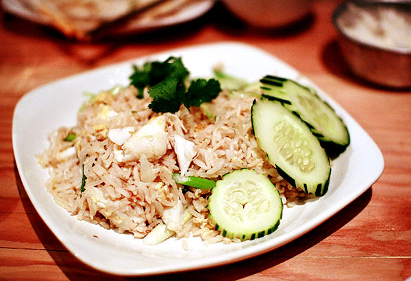 dungeness fried rice