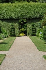 Topiary doorway