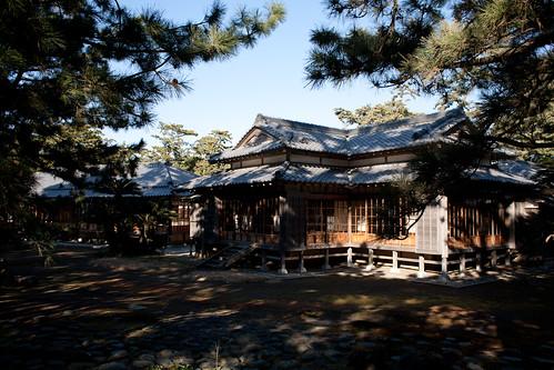 Numazu Imperial Villa Park Jan 2011