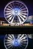 Wheel of Light (Chris Beesley) Tags: longexposure light reflection water wheel night liverpool albertdock merseyside liverpoolone pentax1645 liverpooleye pentaxk100dsuper