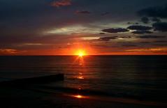 Lullaby of the Lost Sunrise (William Finnegan) Tags: ocean beach water sunrise dawn mar agua florida miami playa aurora fl miamifl salidadelsol