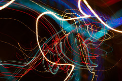 Night lights (DaveMosher) Tags: lightpainting night dark