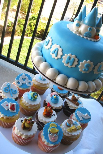 Cinderella Cake and Cupcakes