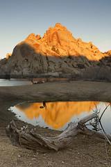 Sunrise, Barker Dam (WICs Photography) Tags: sunrise desert joshuatree joshuatreenationalpark barkerdam