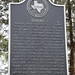 Dubina Texas historical plaque