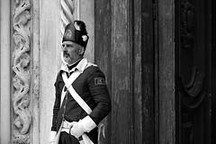 soldier's portrait (marcobertarelli) Tags: portrait soldier serene republic venice bw black white moment life history monochrome