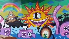 Here comes the sun by Ox-Alien and Edo Rath (Digger Barnes) Tags: graffiti ndsm amsterdam shipping container oxalien lastplak edorath