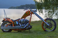 "Orange bike • <a style=""font-size:0.8em;"" href=""http://www.flickr.com/photos/126602711@N06/29841714976/"" target=""_blank"">View on Flickr</a>"