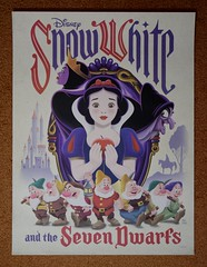 Snow White and the Seven Dwarfs Poster by Eric Tan - Disney Movie Rewards Redemption (drj1828) Tags: us dmr disneymovierewards redemption snowwhiteandthesevendwarfs erictan poster artwork