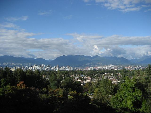 Amazing View from Queen Elizabeth Park