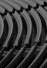 parterre (marco prete) Tags: bw monocromo blackwhite stadium bn estadio firenze bianconero stadio seggiolini yourcountry