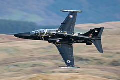 ZK035 RAF Hawk T2 (PhoenixFlyer2008) Tags: wales speed training flying loop hawk low level valley bae raf t2 mach lfa7