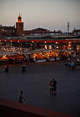 Djemaa el Fna (Andrea Favini - F4v0) Tags: africa birthday plaza fish garden place ysl morocco marocco marrakech yves ramadan cascade saintlaurent vi djemaaelfna koutubia ouzude smmohammed
