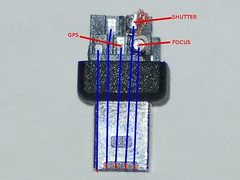 Nikon D90 10 Pin Connector Pinout (Top)