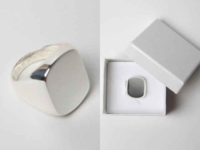 Martin Margiela silver ring 02c