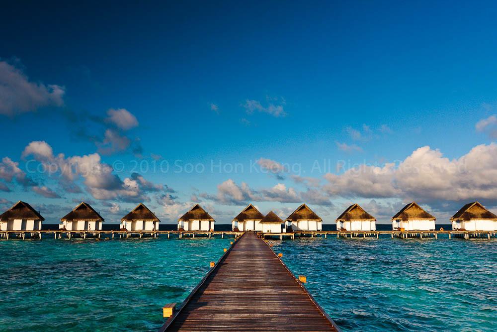 Luxury SunSet Water Villa @ Centara Grand Island Resort & Spa Maldives