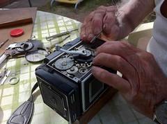 Rolleiflex 3.5F repair (jiulong) Tags: sydney australia repair nsw rolleiflex35f