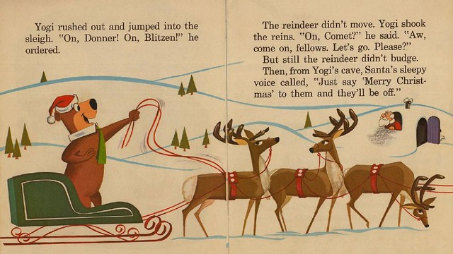 Yogi Bear Helps Santa008