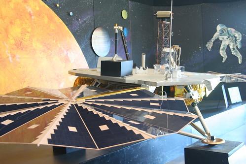 Phoenix Mars Lander Replica: Aerospace Museum of California