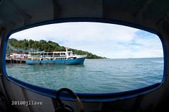 Benoni Pier (jperthllave) Tags: travel port dock pentax philippines camiguin framing 5photosaday camiguinisland smcpdafisheye1017mmf3545edif justpentax benonoipier
