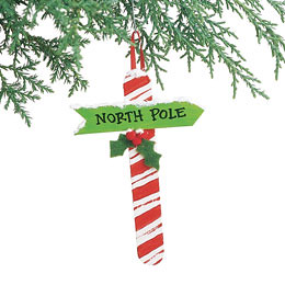North Pole Ornament (Courtesy Family Fun Magazine)