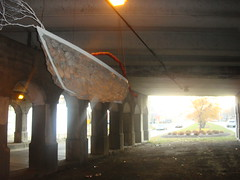 The Styx Boat (Barrybu) Tags: street chicago art boat hands canoe styx the