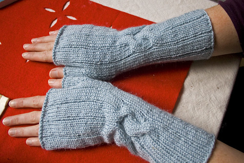 mitts for sister