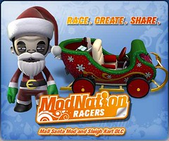 ModNation Racers PS3: MallSanta