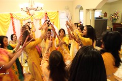 OYLPA Day 67: Old-Fashioned Luddi, Mayoun Style (klodhie) Tags: life wedding pakistan yellow one dance asia south muslim year pakistani shaadi mayon kiran celebrate mehndi nikkah valima mayoun pakistaniamerican oylpa lodhie