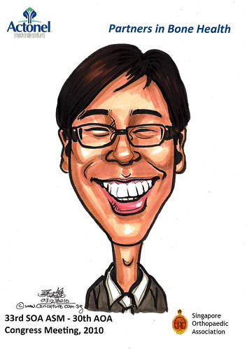 Caricatures for Sanofi-Aventis - 11