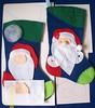 Projeto Bota Natalina - frete grátis (edilmarasantiago) Tags: christmas natal navidad handmade artesanato craft felt noel feltro projeto molde moldes fieltro natalino