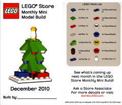 LEGO MMMB - December '10 (Tree) (TooMuchDew) Tags: christmas holiday tree december lego arbre baum legostore december10 legoimaginationcenter mmmb legoclub toomuchdew monthlyminimodelbuild licmoa minimodellbauevent