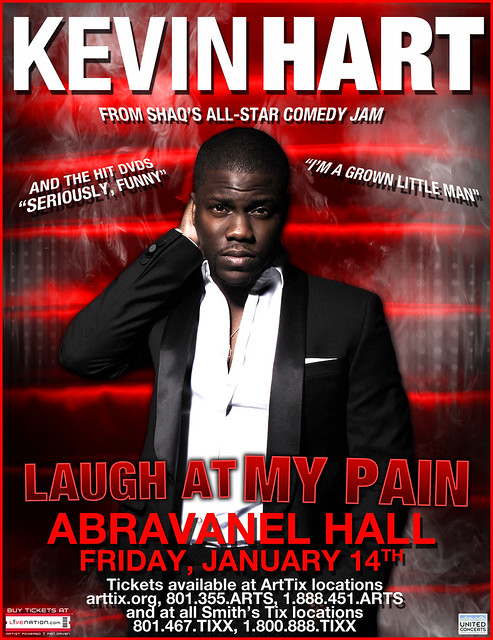 Kevin Hart at Abravanel Hall 01142011  by United Concerts