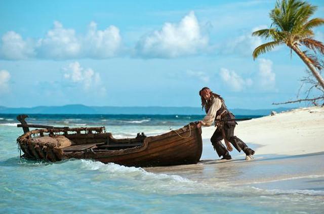 Piratas del Caribe 4: En costas extrañas playa