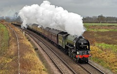 cestrian cathedrals (midcheshireman) Tags: train cheshire steam locomotive tornado cathedralsexpress 60163