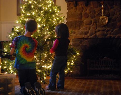 Decorating Grandma's Tree