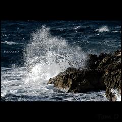 Furious Sea (Alucardo) Tags: blue sea sun white david france water rock contrast landscape photography marseille rocks waves photographie thomas wave lesgoudes highspeed thomasdavid thomasdavidphotography thomasdavidphotographie